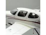 Cirrus SR20 Custom Aircraft Model Detailed Interior