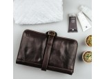 The Pratello - Luxury Leather Hanging Toiletry Bag