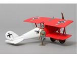 Thomas Gunn 1/30 Scale Aircraft Model - Pfalz D.III Red Lozenge