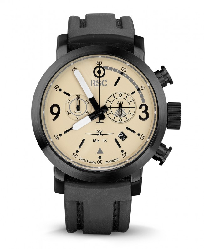 RSC1720 Spitfire MK IX 45mm Chronograph Pilot Watch