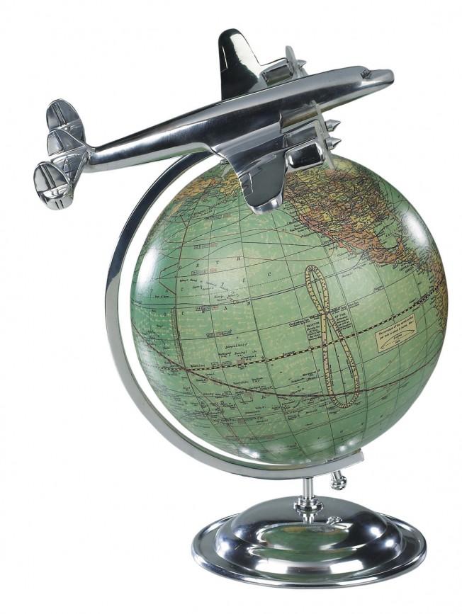 Lockheed Constellation Vintage Globe - on Top of the World
