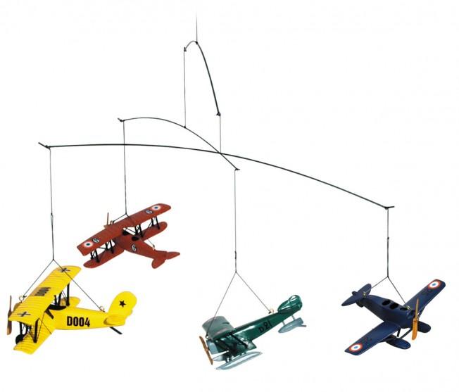 1920's Style Flight Children's Mobile