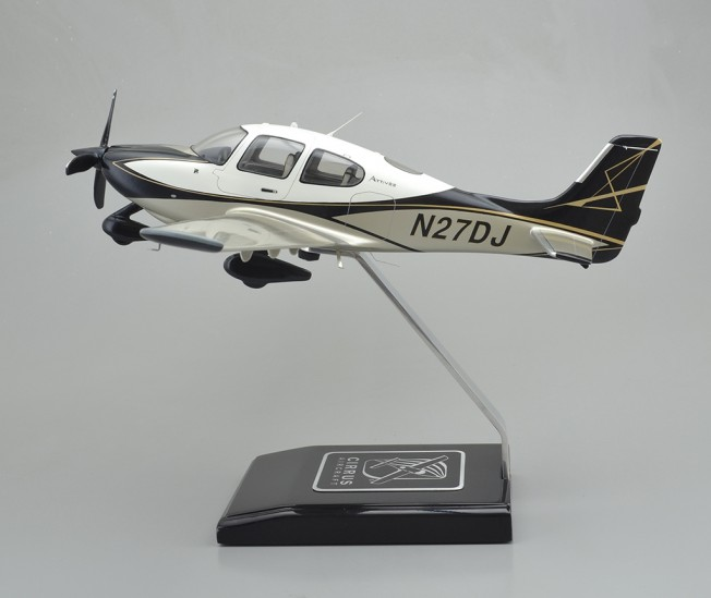 Cirrus SR22T Custom Aircraft Model