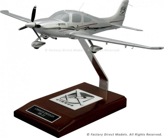 Cirrus SR22 Custom Aircraft Model