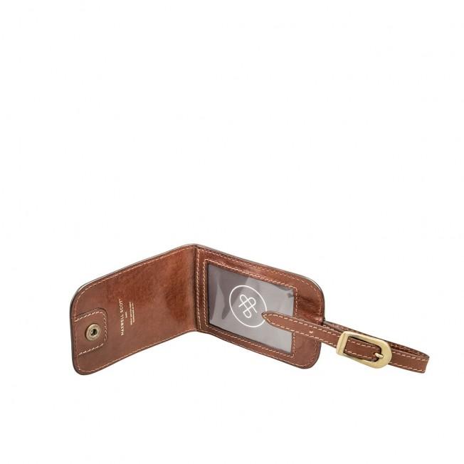 The Ledro - Luggage Tag Luxury Italian Leather