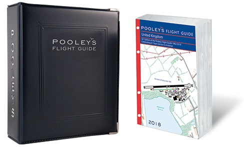POOLEYS 2017 UNITED KINGDOM FLIGHT GUIDE (LOOSE-LEAF WITH Ring BINDER)