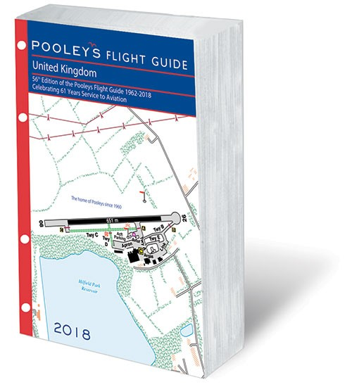 POOLEYS 2018 UNITED KINGDOM FLIGHT GUIDE (LOOSE-LEAF INSERT)