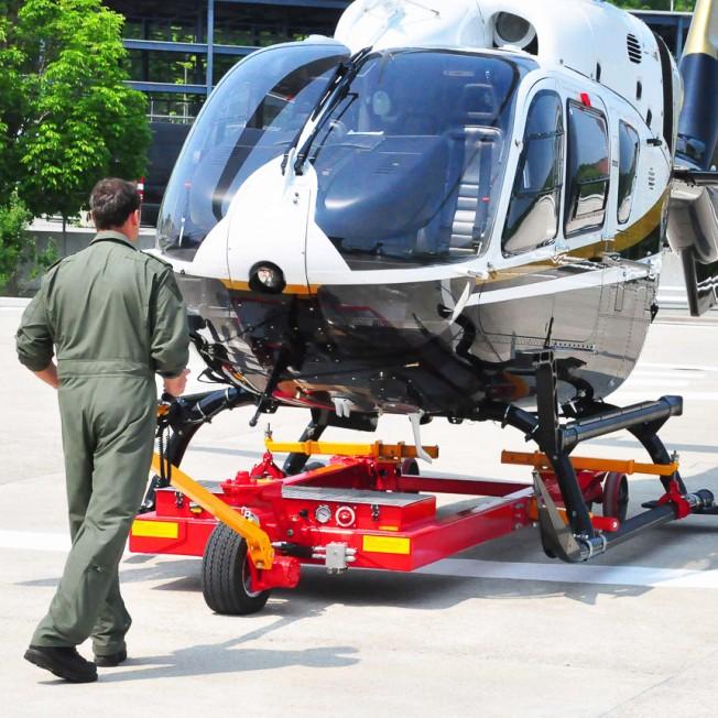 Helitowcart V1022 for Skidded Helicopter
