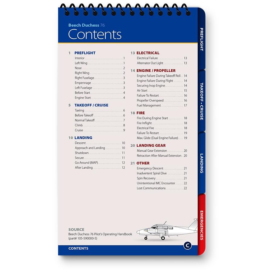 ... Beechcraft Duchess BE-76 Qref Checklist