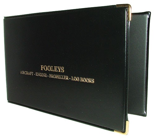 Pooleys CAA CAP 398/399 & 400 Logbook Binder