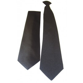 Pilot Tie Clip-On or Standard - Black or Navy