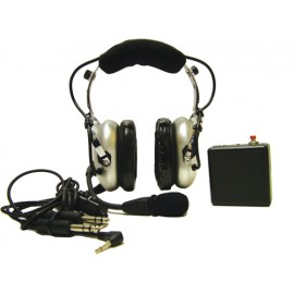Pooleys EHD320 ANR Helicopter Pilot Headset