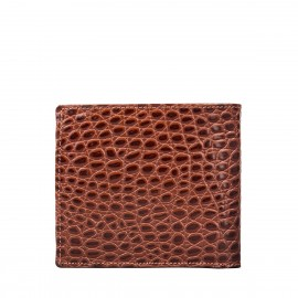 Ticciano Croco Mens Leather Wallet with Coin Pouch