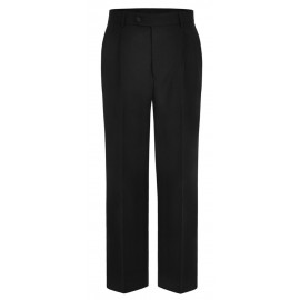 Mens Black Pilot Aviator Trousers