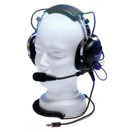 Pooleys EHD301/EHD302 Passive Helicopter Pilot Headset