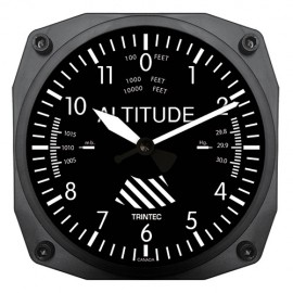 "Trintec Altimeter 6"" Wall Clock"