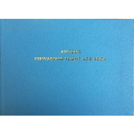 NLB050 POOLEYS STEWARDESS FLIGHT LOG BOOK
