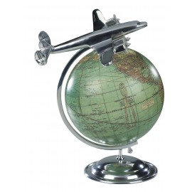 Lockheed Constellation Vintage Globe - on Top of the World