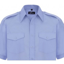 Williams Blue Pilot Shirt