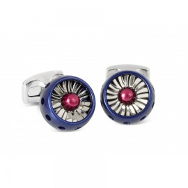 RAF Jet Turbine Engine Cufflinks