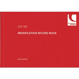 CAA CAP 395 - Modification Record/Log Book (2005 impression)