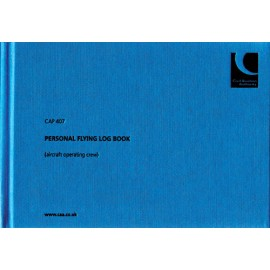 082f77144f9 CAP407 CAA PERSONAL FLYING LOGBOOK (AIRCRAFT OPERATING CREW)