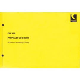 CAP 400 CAA Propeller Log Book (Variable)