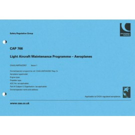 CAA CAP 766 LIGHT AIRCRAFT MAINTENANCE PROGRAMME (A)