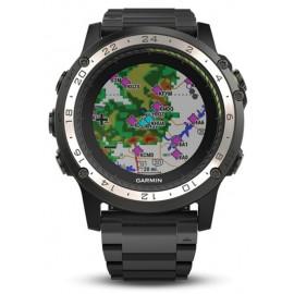 Garmin D2 Charlie GPS Pilot/Aviator Watch - Titanium