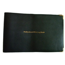 JEPPESEN LEATHER COVER FOR PROFESSIONAL PILOTS LOGBOOK COVER