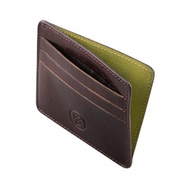 The Marco Mens Slim Leather Credit Card Holder