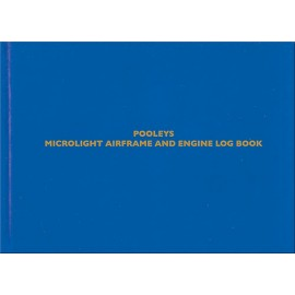 NLB033 POOLEYS MICROLIGHT AIRFRAME & ENGINE LOG BOOK