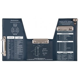 Pooleys NFB080 CB-DS FLIGHTBOARD FOR STICK AIRCRAFT