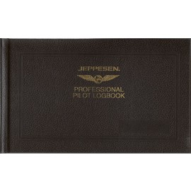 Jeppesen FAA Professional Pilots Logbook (non-EASA)