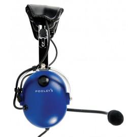 Pooleys EHD303 Passive Pilots Headset