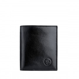 The Rocca Mens Leather Bifold Wallet with Coin Section