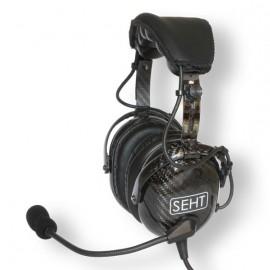 SEHT SH40-80 Carbon Fibre ANR Bluetooth Pilot Headset