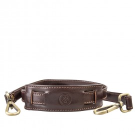 Maxwell scott Leather Shoulder Strap