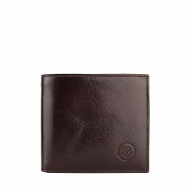 The Ticciano Mens Leather Wallet with Coin Pocket