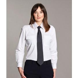 Williams White Ladies Uniform Pilot Shirt - Long & Short Sleeve