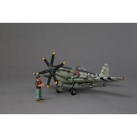 Thomas Gunn 1/30 Scale Aircraft Model - Seafire