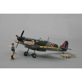 Thomas Gunn 1/30 Scale Aircraft Model - Spitfire 'Hello Tolly'