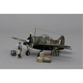 Thomas Gunn 1/30 Scale Aircraft Model - Brewster F2A-2 Buffalo